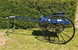 ROAD CART, painted blue to suit 14.2 to 15.2hh