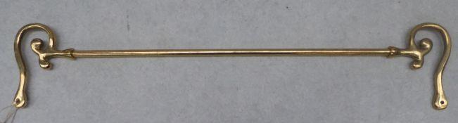 Brass rein rail - carries VAT