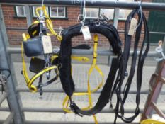 Set of quick hitch cob size trotting harness - carries VAT