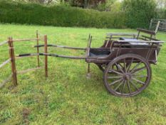 NORFOLK CART to suit 34.5ins to 38ins Shetland pony.
