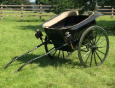 GOVERNESS CART built by Offord & Sons of London, circa 1880 to suit 12 to 13hh.