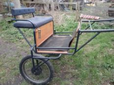 TWO-WHEEL EXERCISE CART to suit 13hh cob.