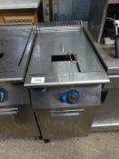 Electrolux E7FRGDIGFO single tank gas fryer