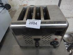 Chefmaster four slice toaster