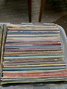 Box of 70 plus LPs and 30 singles