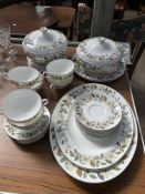 """Part Wedgwood """"Beaconsfield pattern"""","""