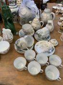 Royal Grafton part tea set and other china