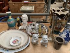 Quantity of miscellaneous china and ornaments