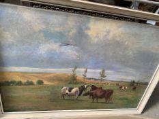 Two framed oils
