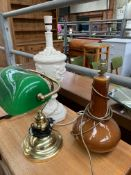 Casa Pupo table lamp and 2 others