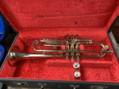 Zenith trumpet and case and A897c mouthpiece.