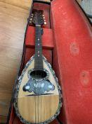 Carlo Ricordo of Napoli mandolin in original case