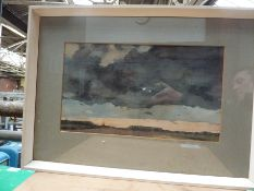 Three framed and glazed watercolours