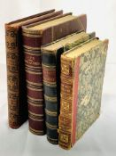 The Gallery of Engravings volumes 2 and 3 together with 3 other books