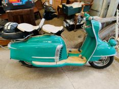 1958 NSU Prima V Scooter. This lot is being sold by Order of The Official Receiver.