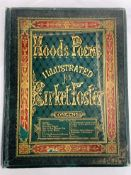 The Poems of Thomas Hood published 1876, illustrated with 21 etched plates by Birket Foster