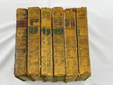 The Works of the Reverend George Whitefield, volumes 1-6, published 1771