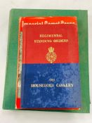 Imperial Camel Corps. by G Inchbald and Regimental Standing Orders of the Household Cavalry, 1956.