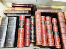 Various bindings including vellum, 19 in total