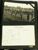 Album containing postcards from the early 20th Century.