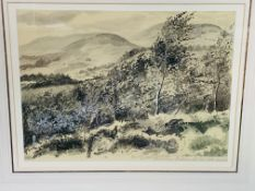 Two gilt framed and glazed watercolours by Philip Rickman