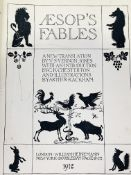 Aesop's Fables translated by V.S. Vernon Jones and illustrated by Arthur Rackham, and 3 other books