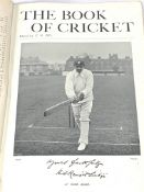 The Book of Cricket - A Gallery of Famous Players, edited by C.B. Fry