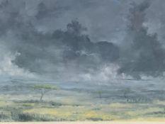 Framed oil on canvas signed John Hutchins, 1991