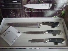 Infinity Chefs three piece knife set.