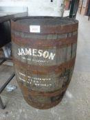 Jameson Irish whiskey barrel