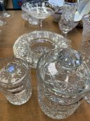 A quantity of glassware, mainly Waterford and Galway