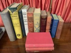 Collection of fourteen books mainly classic novels