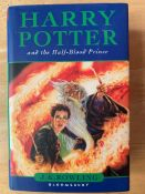 Harry Potter and the Half Blood Prince, by J K Rowling, First Edition, hardback with dust jacket