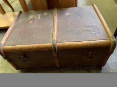 Wood bound fibre trunk by Towby Atkins and Co