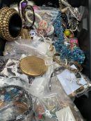 Large quantity of costume jewellery