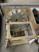 Long case clock movement by Raphael Sone of Denmead and another clock