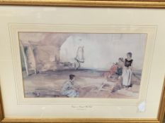 Two framed and glazed prints by Sir William Russell Flint