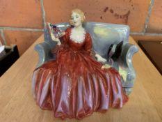 Royal Doulton figurine entitled Sweet and Twenty