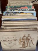 29 cigarette and trade card albums