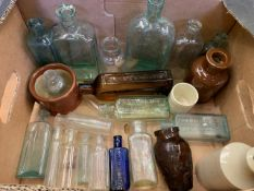 23 Victorian chemist bottles
