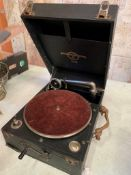 A Columbia wind-up gramophone, No.109