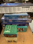 Jigsaw puzzles, Enid Blyton books and other items