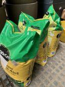 Three x 17.5kg bags of Miracle-Gro