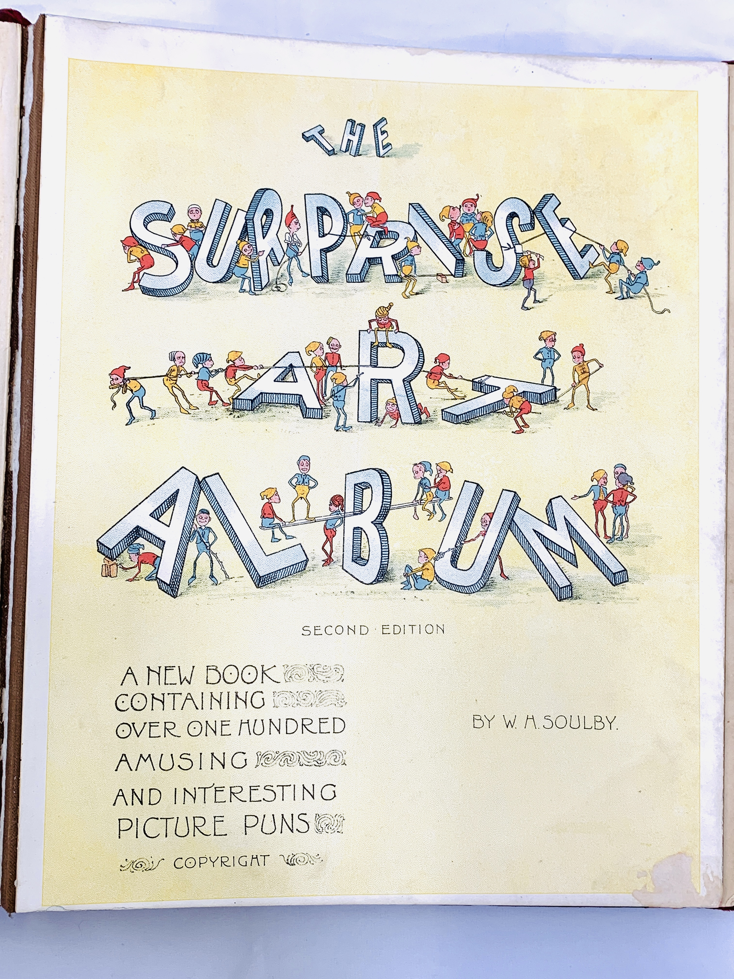The Surprise Art Album, 2nd edition, by W. H. Soulby - Image 2 of 9