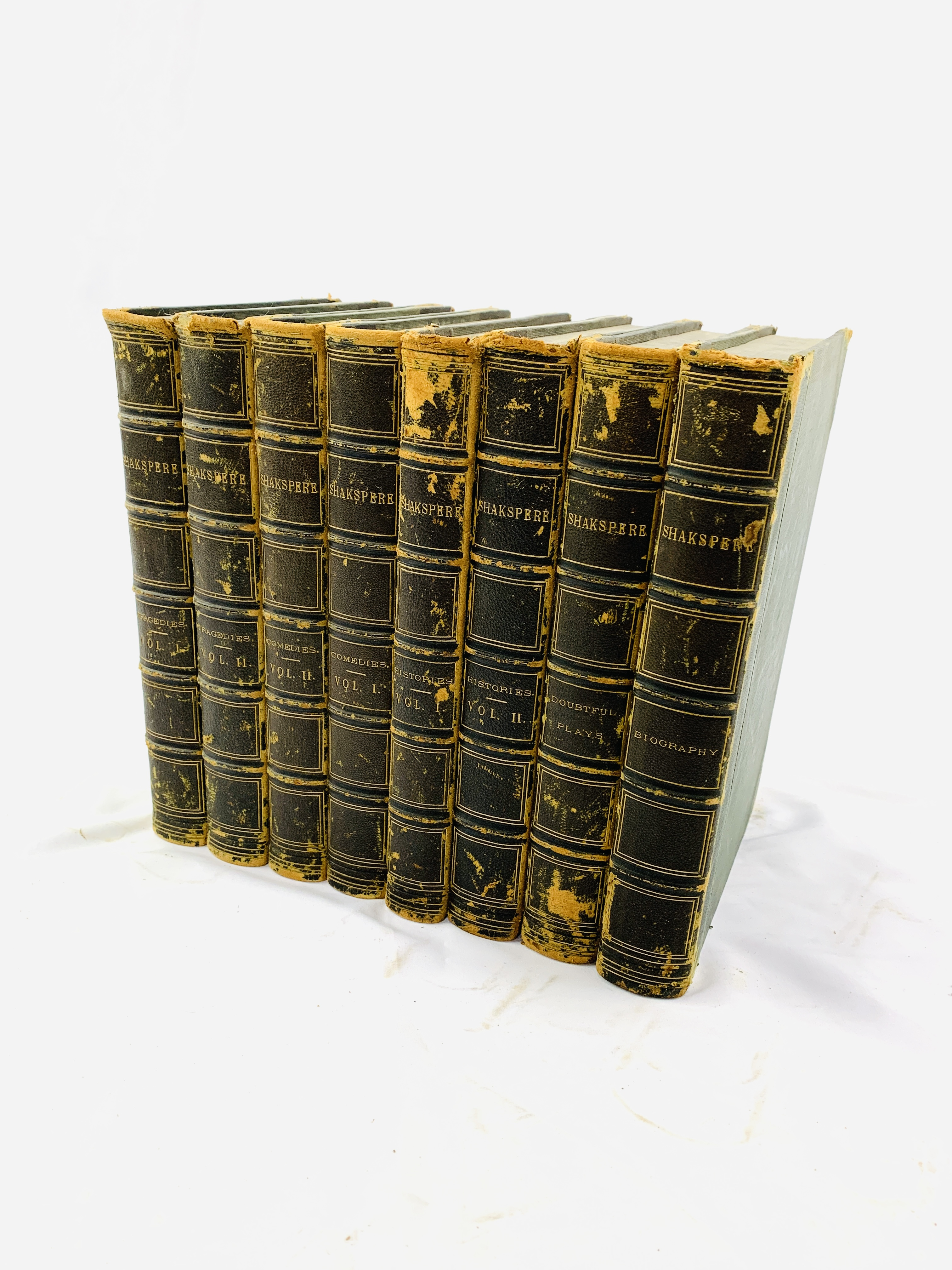 The Pictorial Edition of The Works of Shakespeare, edited by Charles Knight, 8 volumes, 1867