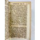 Four volumes of Bibliotheca Latina published in Hamburg 1734-1736 by J. Alberti Fabricii
