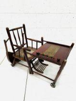 19th century Baumann & Co metamorphic high chair
