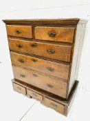 18th century oak chest of drawers