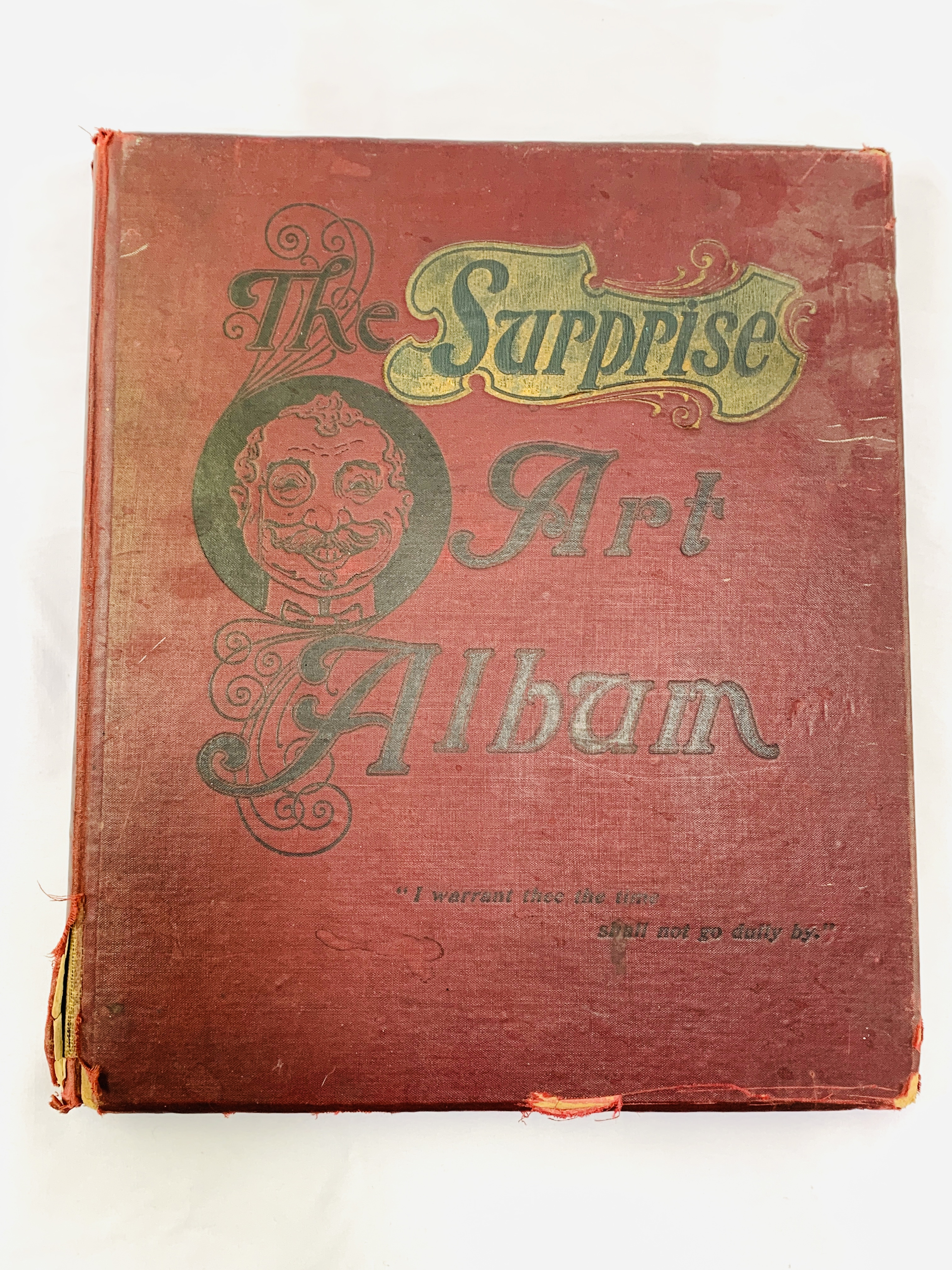 The Surprise Art Album, 2nd edition, by W. H. Soulby