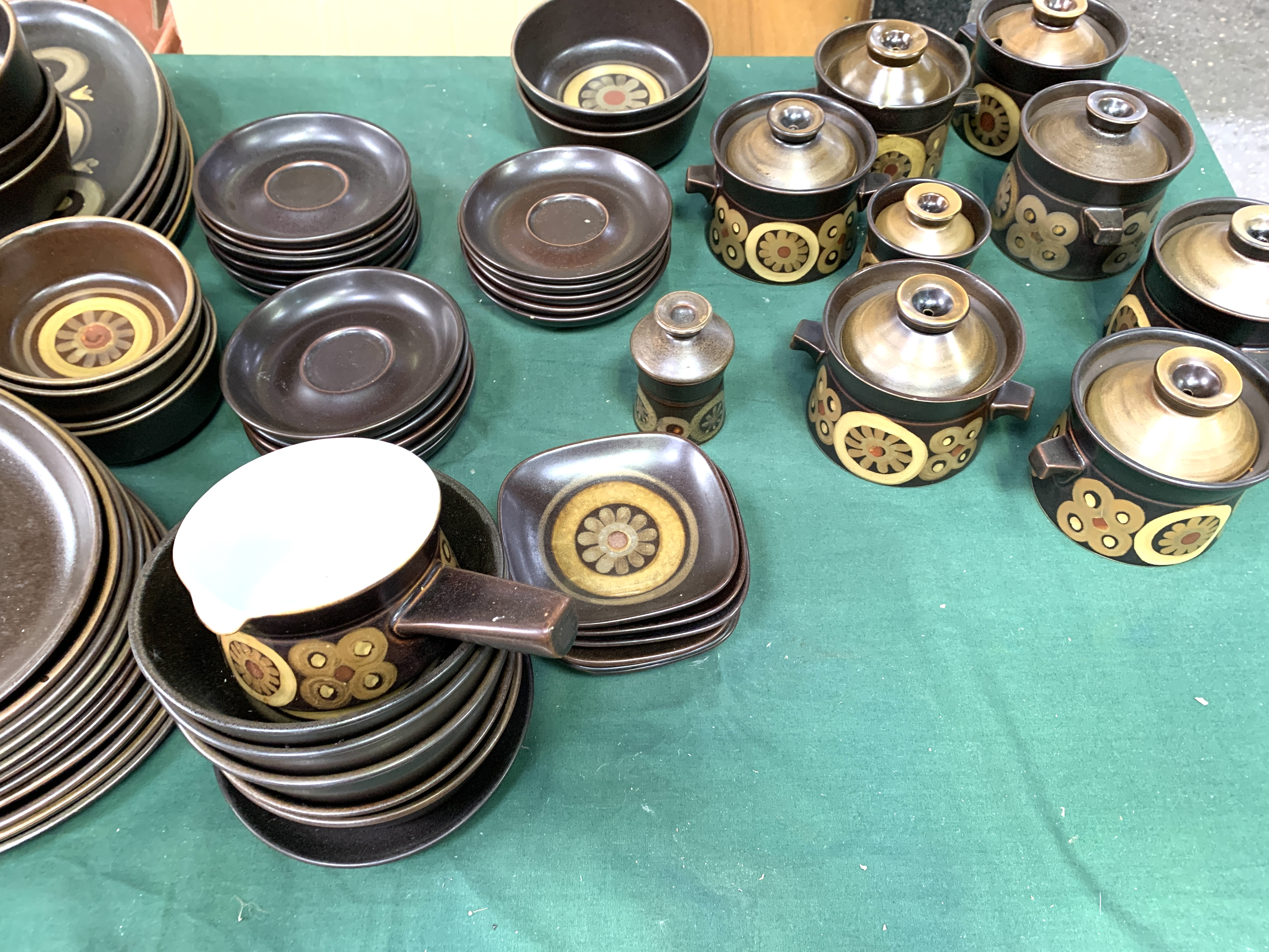 180 pieces of Denby Arabesque tableware - Image 5 of 9